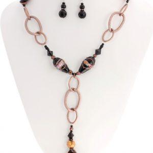 Opal Agate Gemstone Necklace