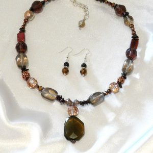 Garnet Stone Necklace