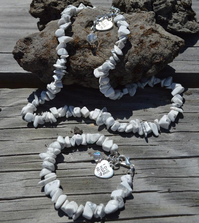 Howlite-GemStone-Necklace
